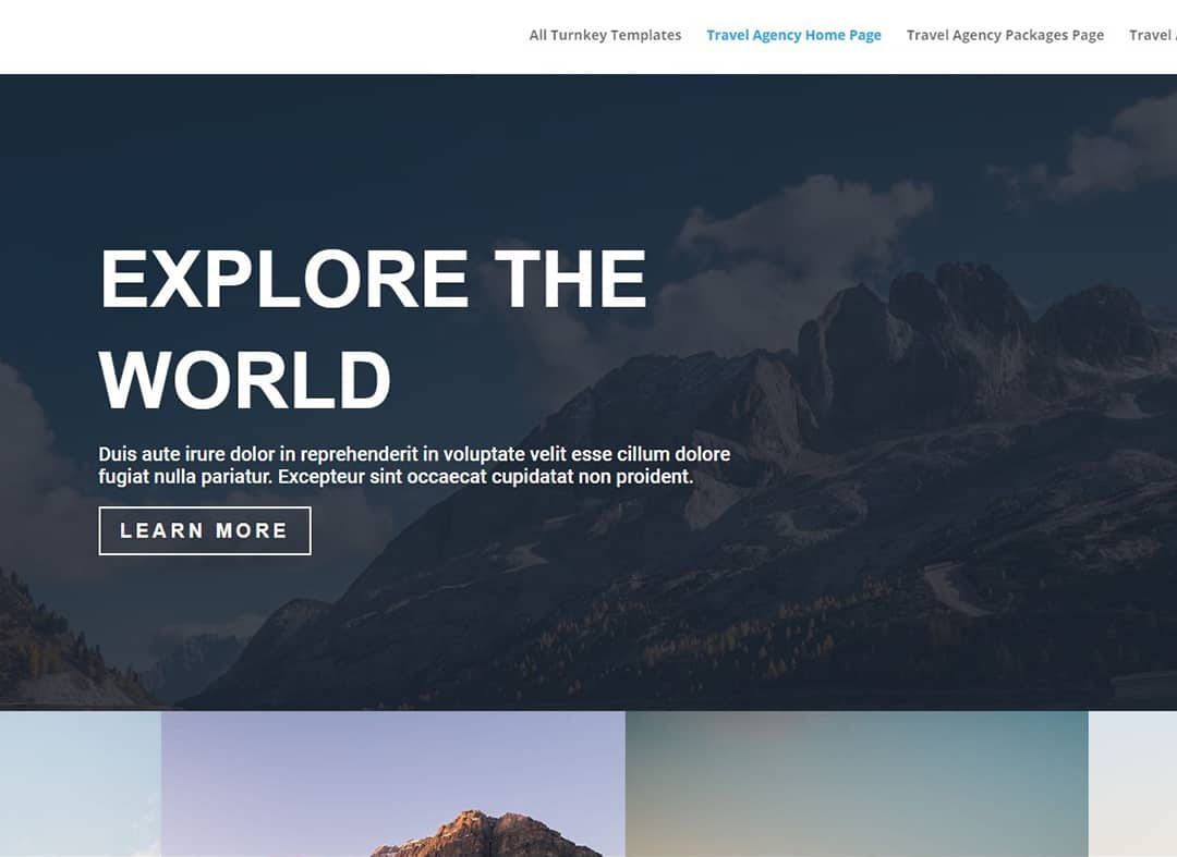 40ParkLane - Client - Websites Design Templates.com