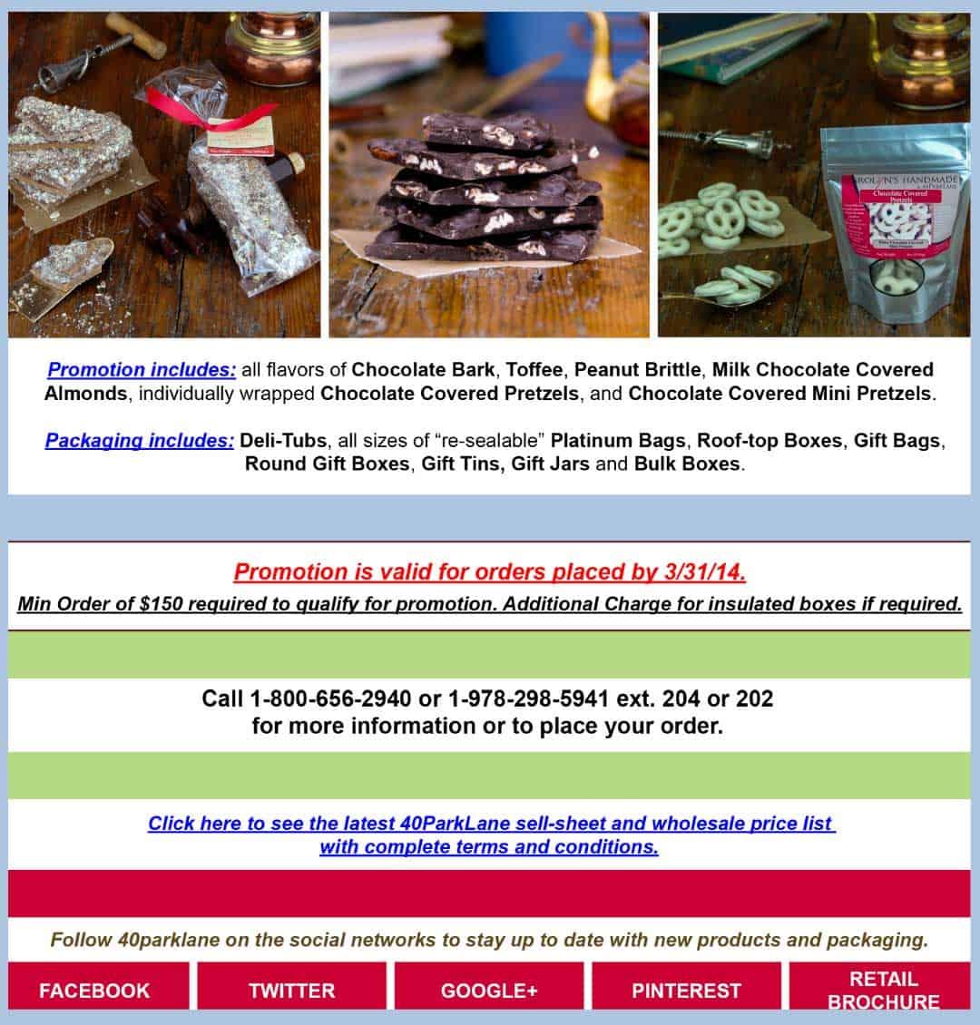 40ParkLane.com E-Mail Marketing Campaign