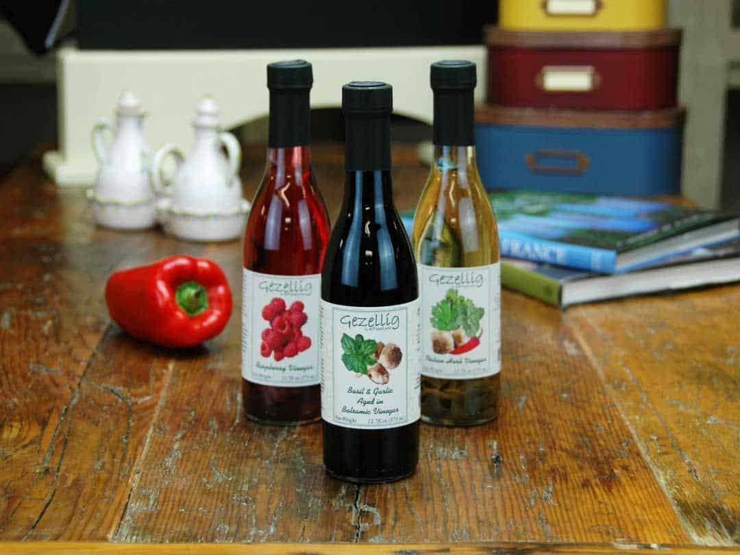 Graphic Design Portfolio - Vinegar Labels