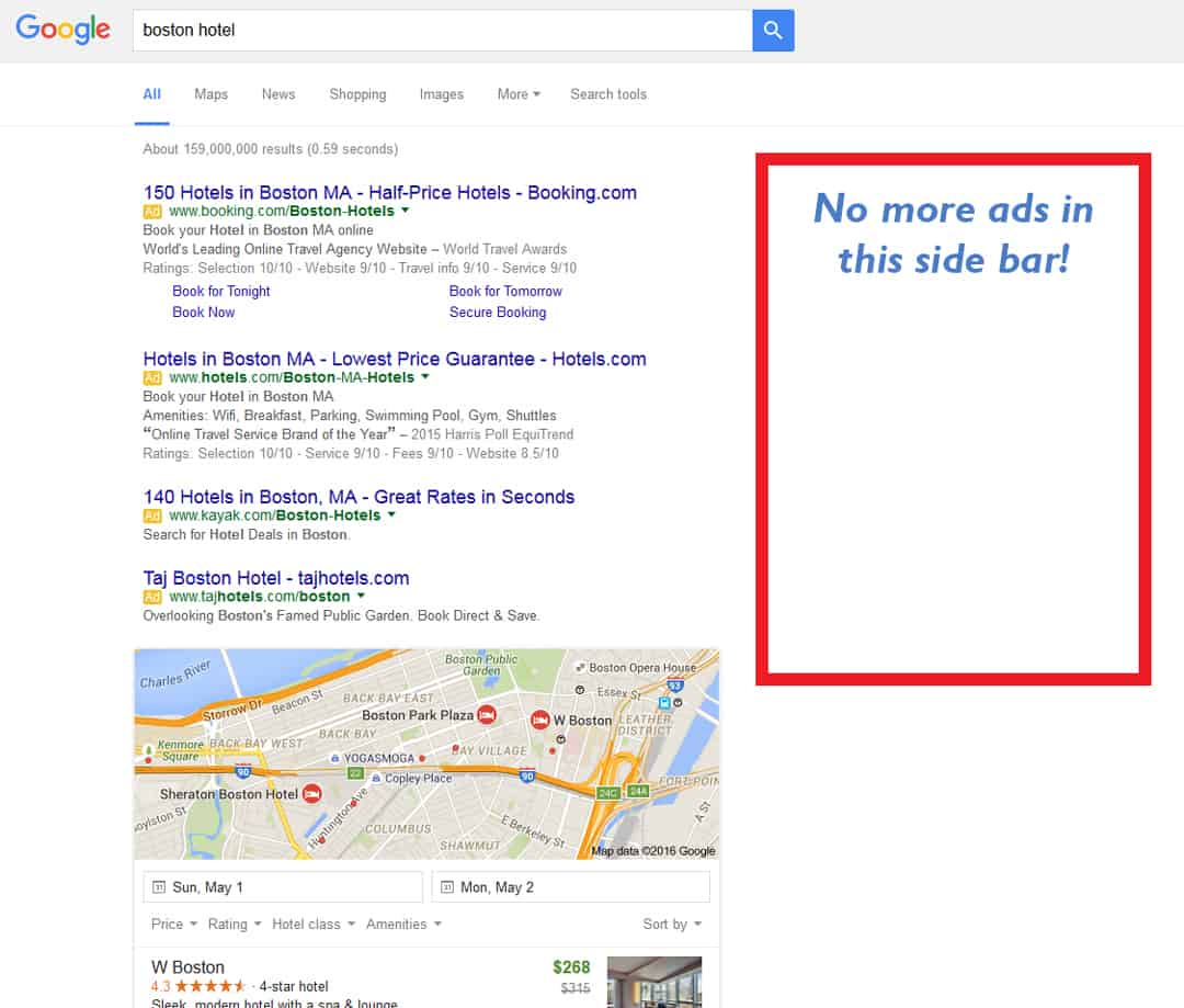 Google Changed SERP -Search Engine Results Page