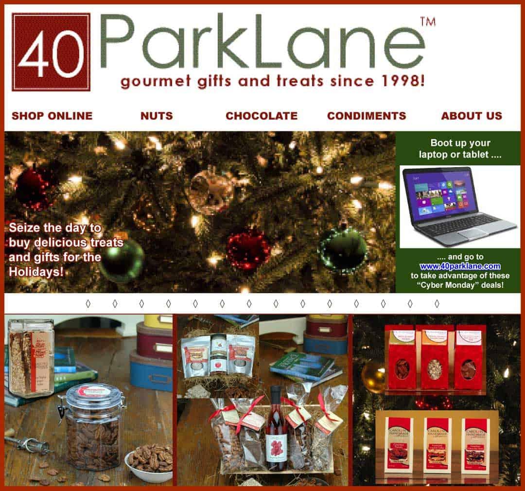 40ParkLane.com Web Design