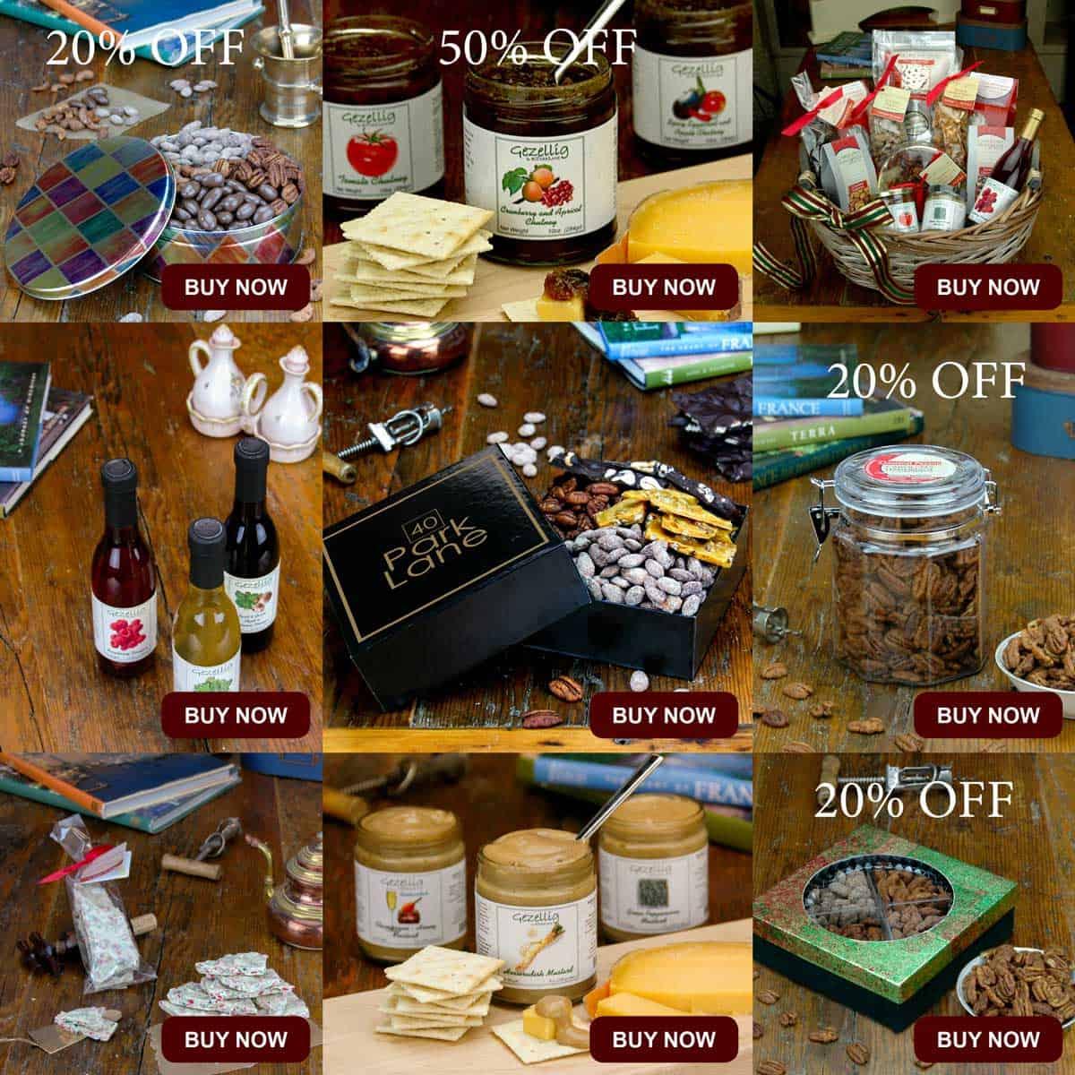 Email Marketing Portfolio - Promotion - Roasted Nuts, English Toffee, Chocolate Bark